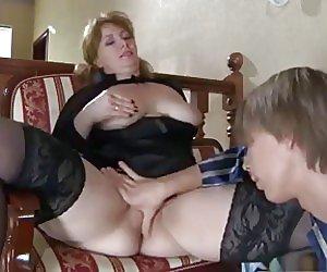 Mom Stockings Videos