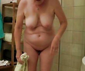 Mature In Shower Videos